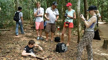 Cu Chi Tunnels for exploring history of Vietnam