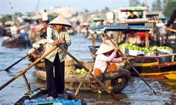 MEKONG DELTA TOUR WITH CAI RANG FLOATING MARKET