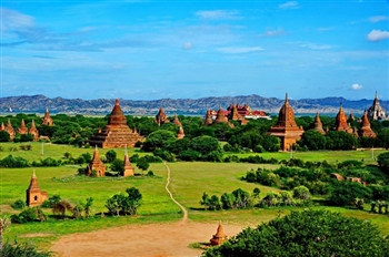THROUGH BAGAN TOURS FROM VIETNAM & CAMBODIA