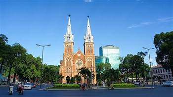Ho Chi Minh Duc Ba church